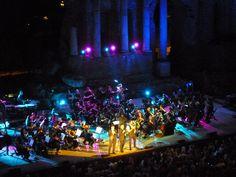 Il Volo Recital 2014 Teatro Greco in Taormina, Sicilia