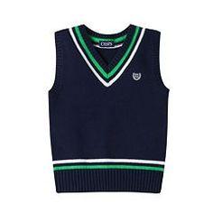 Boys 4-7 Chaps Sweater Vest