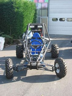 go kart frame Build A Go Kart, Diy Go Kart, Go Kart Buggy, Off Road Buggy, Karting, Cycle Kart, Go Kart Designs, Kart Cross, Homemade Go Kart