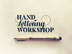 Hand Lettering Work by Designer Sean McCabe