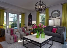 Get inspired by Traditional Living Room Design photo by Beckwith Interiors. Wayfair lets you find the designer products in the photo and get ideas from thousands of other Traditional Living Room Design photos. Living Room Small, Living Room Images, Eclectic Living Room, Living Room Green, Chic Living Room, Living Room Designs, Living Room Decor, Dining Room, Decoration Entree