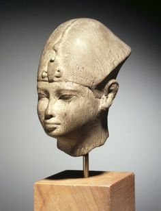 Sculpture of Head  Medium: Marble  Place Made: Egypt  Dates: 381–30 B.C.  Dynasty: XXX Dynasty or later  Period: Late Period - early Ptolemaic Period
