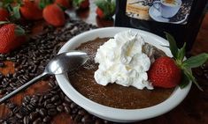 It's easy. It's delicious. It's the perfect after-dinner adult treat or breakfast bowl of goodness. Easy Desserts, Dessert Recipes, Easy Pudding Recipes, Making Sweets, Tapioca Pudding, Easy Coffee, Coffee Dessert, Breakfast Bowls, Base Foods