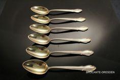 6-Moccaloeffel-Koch-Bergfeld-800er-Silber-10-7-cm-Espressoloeffel