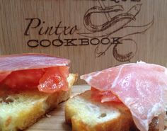 Pan Tumaca con Jamon Iberico (Bread with Tomato and Cured Ham)