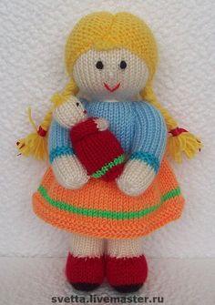 Amigurumi Patterns, Doll Patterns, Knit Crochet, Crochet Hats, Knitted Dolls, Stuffed Toys Patterns, Knitting Stitches, Doll Toys, Lana