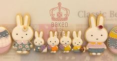 Miffy & Easter Egg Icing Cookies #icingcookies #miffy