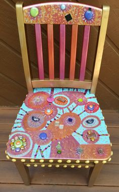 Chair designed by Blanca Aldaco (2015 Chair-ity Event)