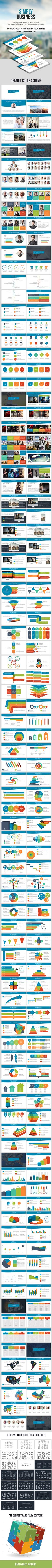 Our Top Rated Keynote Templates Simply Business is a Keynote Template that is suitable for all kind of presentations. It has 70 di