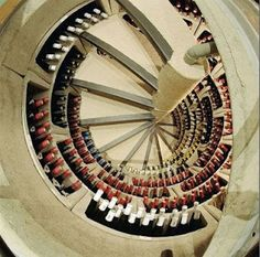 For wine lovers who don't have space for a designer wine cellar. This is like the Bat Cave of wine storage solutions. Spiral Wine Cellar, Root Cellar, Wine Cellar Design, Trap Door, Wine Collection, In Vino Veritas, Italian Wine, Wine Storage, Storage Ideas