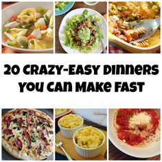 20 Crazy-Easy Dinners You Can Make Fast