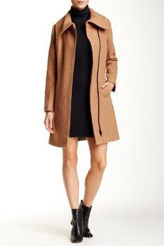 Soia & Kyo Wool Blend Coat