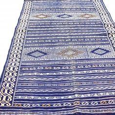 Moroccan Washed Wool Kilim Rug
