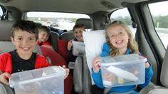surviving a roadtrip with kids