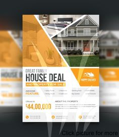 business open house flyer business open house flyer ideas business open house flyer template business open house flyer example business open house flyer template Brochure Layout, Brochure Design, Flyer Template, Template Brochure, Big Garden, Open House, Layout Design, Property For Sale, Business