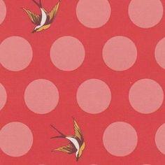 Tula Pink - Free Fall Wideback - Free Fall Wideback in Lipstick