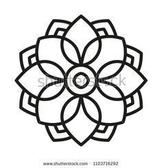 Easy Mandala Form for Coloring. Ebook Web page. Easy Mandala Form for Coloring. Mandala Art Lesson, Mandala Painting, Mandala Drawing, Dot Painting, Mandala Design, Mandala Pattern, Stained Glass Patterns Free, Simple Mandala, Mandala Coloring Pages