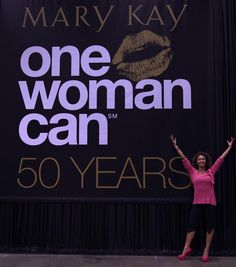One woman can!!  One woman can change another woman's life by sharing the Mary Kay opportunity!
