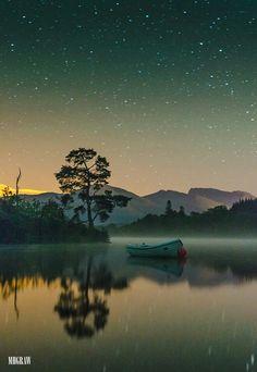 Loch Lochy. Toward Ben Nevis Beautiful picture
