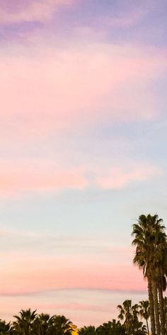 Cotton candy skies in Santa Monica