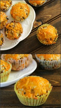 Mushroom Cheddar Parmesan Muffins are quick and easy to make, mouth watering and flavorful muffins that can be served alone or with soup or for any type of gathering. #bake #muffins #Milk #cheese #recipe #dinner #Lunch #Breakfast