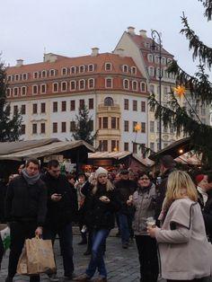 Impression Neumarkt Dresden xmasmarket 2024