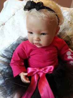 Wow, what a beautiful doll! No idea of the cost, but such a sweet face. Reborn Baby doll - Shyann by Aleina Peterson | eBay