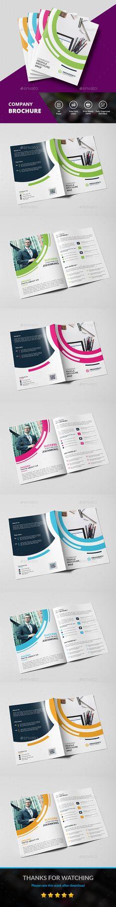 Graphic Design Portfolio Brochure Template Publication Design - sell sheet template