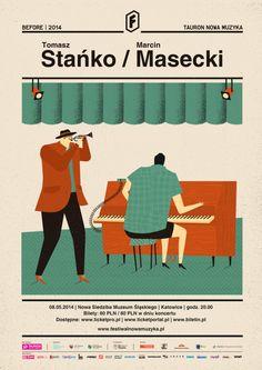 tomasz stańko / marcin masecki | poster