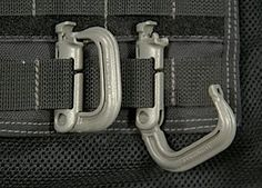 MAXPEDITION GRIMLOC Locking D-Ring (4 Pack) - Black