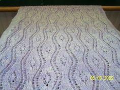 Cashmere lace shawl