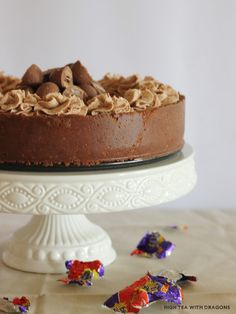 Creme Egg Cheesecake - nzgirl  Thank God for Easter only coming the once in a year.  This looks seriously ott delicious.