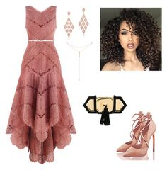 """""""dress"""" by rosy-costa-rc on Polyvore featuring Zimmermann, ASAP, Balmain, Anne Sisteron and Tacori"""