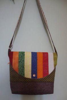 """Bolsa Tricalo """"Mila. Ver mais em www.elo7.com.be/florisbelarteira"""