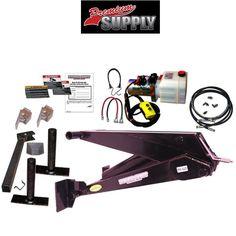 11 Ton (22,000 lb) Dump Trailer Hydraulic Scissor Hoist Kit - PH620