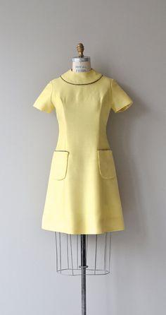 Saturday's Girl dress mod 1960s dress vintage 60s by DearGolden