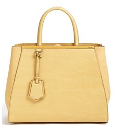 #Fendi #leather shopper http://rstyle.me/n/f2sbgpdpe