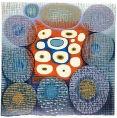 Orb Weaving CTP Karen Kunc Woodblock Print