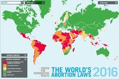 Datapoint: Abortion access throughout the world