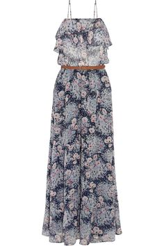 JoieRominette printed silk-chiffon maxi dressfront