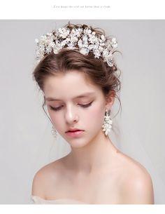 crystal rhinestones bridal crown tiara handcrafted