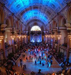 The Main Hall - Viennese Ball in St. George's Hall, Liverpool