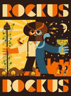 Vintage Wine Posters - Rockus Bockus -  __ www.nozzedicana.com