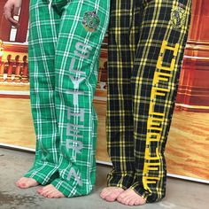Size; 2XL Hogwarts House Flannel Pant by FanFash on Etsy