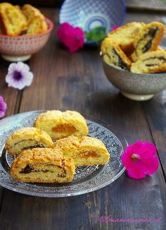 Biscotti Angelina | 6manincucina Biscotti Cookies, Italian Desserts, Cookie Bars, Good Mood, Macarons, Donuts, Biscuits, French Toast, Muffins
