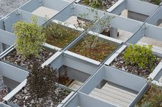 Gallery of Modular Units Create a Raised Garden Screen in this Structure in Spain  - 1