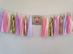 TANGLED Package Tassel Garland Giant Balloons by IrisBlingtique