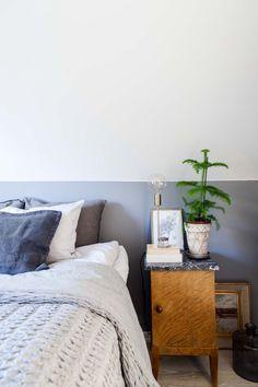 sovrum, grått sovrum inspiration