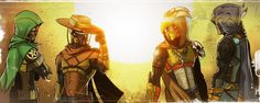 Destiny Cowboys and Indians by Gary-Q on DeviantArt