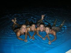 pool party at 2 am